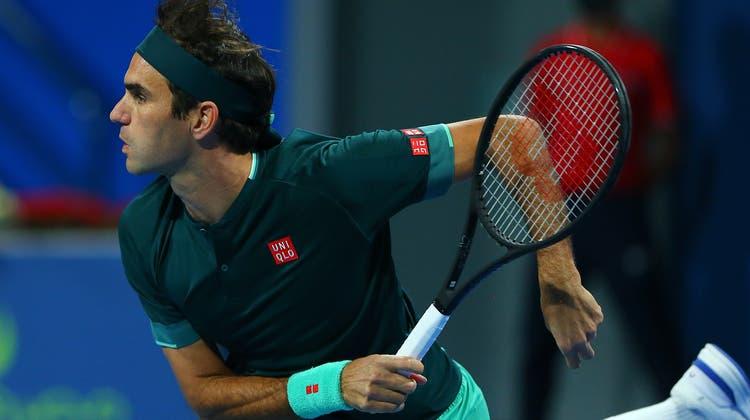 Roger Federer ist zurück im Tenniszirkus. Als Sieger. (Keystone)
