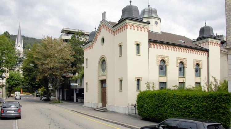 Wurde angegriffen: Die Synagoge der jüdischen Gemeinde Biel (Zvg / Aargauer Zeitung)