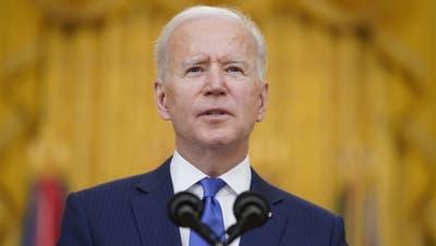 Kann schon nach sieben Wochen im Amt einen politischen Grosserfolg verbuchen: US-Präsident Joe Biden. (AP)