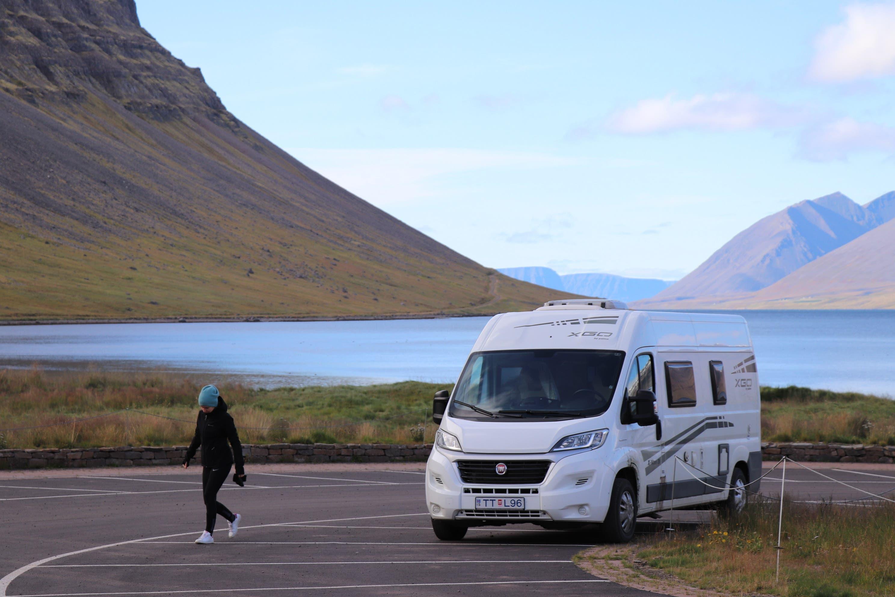 23. September 2020, Island: Unterwegs mit dem Wohnmobil in den Westfjorden.