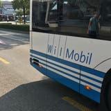 Wil Mobil wird von der BUS Ostschweiz AG betrieben, welche auch den Auftrag für den Betrieb der neuen Buslinie erhalten hatte. (Bild: Gianni Amstutz)