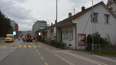 Olten: Brand in einem unbewohntem Einfamilienhaus (Kapo SO)