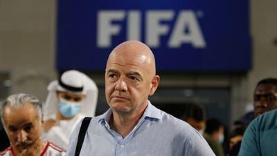 Unzulässige Befragung: Fifa-Präsident Gianni Infantino bekommt vor Bundesstrafgericht teilweise recht. (Keystone)