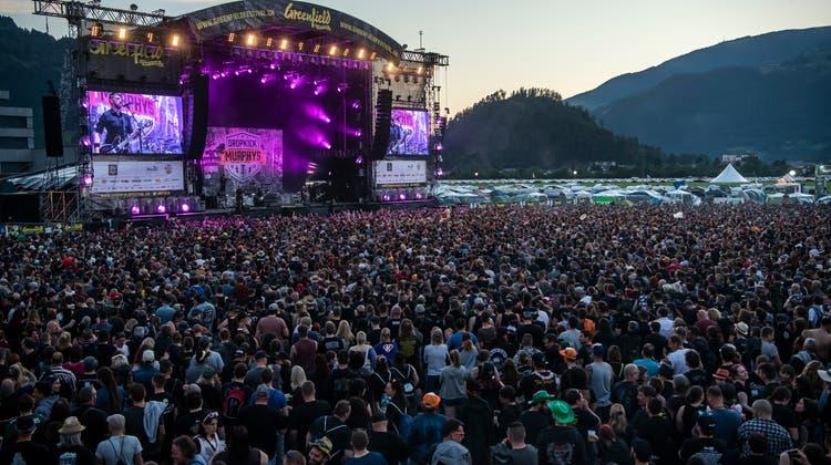 Das Greenfield-Festival in Interlaken wurde für 2021 bereits abgesagt. Weitere könnten folgen. (Keystone)