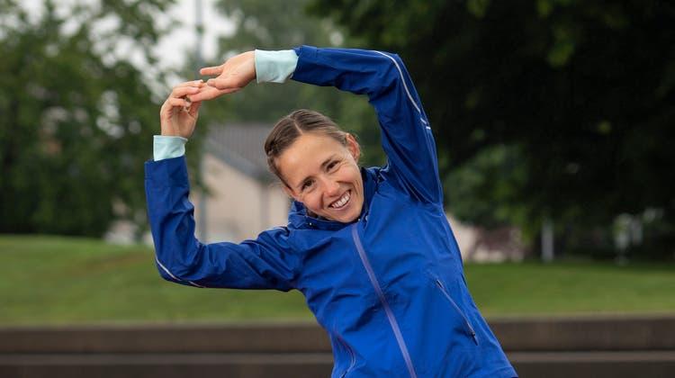 Selina Rutz-Büchel auf der Sportanlage Lindenhof in Wil. (Bild: Ralph Ribi (9.Juni 2020))