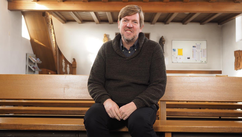 Bernhard Lindner, war gut 14 Jahre Gemeindeleiter in Oeschgen. (Thomas Wehrli / Aargauer Zeitung)