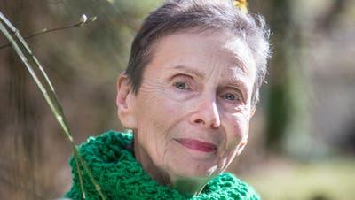Die St. Galler Lyrikerin Monika Schnyder: Zuletzt erschien 2019 ihr Band «Auch Götter haben Gärten» . (Bild: Hanspeter Schiess)