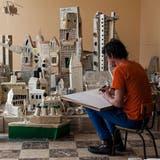 Fenster zum Expressionismus: «Die Stadt» von Frans Masereel. (© 2020 Pro Litteris)