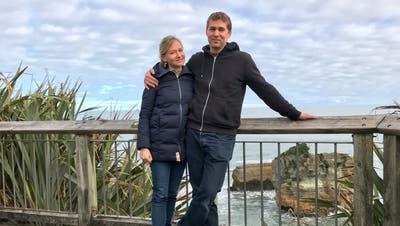 Philip Zumstein und seine Ehefrau Daphne schätzen das Landleben auf Neuseelands Südinsel. (Bild: zvg)