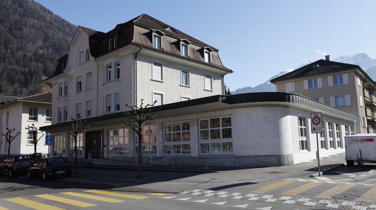 Die Kantonsbibliothek in Altdorf muss saniert und umgebaut werden. (Bild: Florian Arnold, Altdorf, 14. Februar 2019) (Florian Arnold (urner Zeitung))