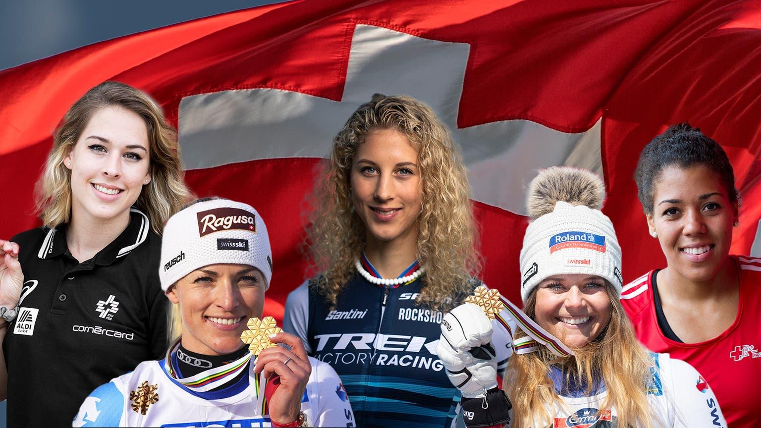 Die Schweizer Sportlerinnen sind im Medaillenrausch