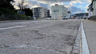 VorgesehenePlananpassungen beim Knoten Rainstrasse sorgen beim Betriebs- und Gestaltungskonzept Toggenburgerstrasse für Verzögerungen. (Bild: Simon Dudle)