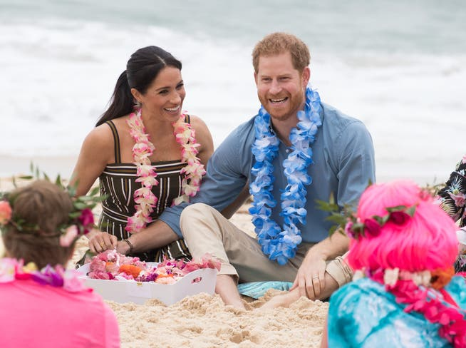 The world was still in order: when Meghan and Harry moved to Australia in 2018.
