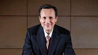 Symbolfigur der Debatte um Managersaläre: Daniel Vasella, ehemals Chef des Pharmakonzerns Novartis. (Remo Naegeli)