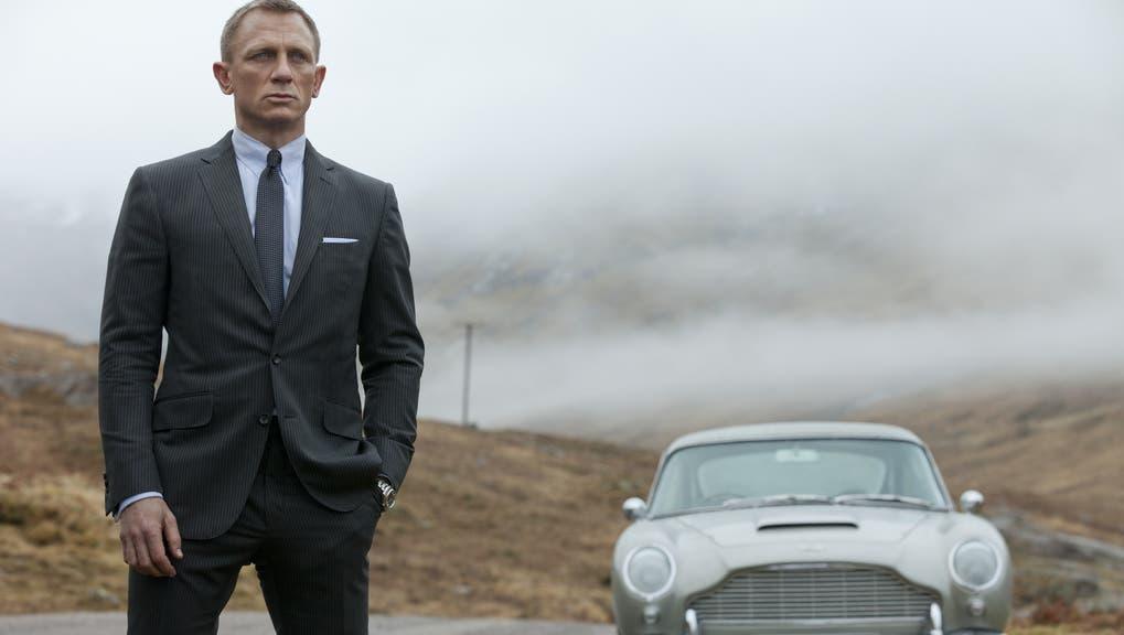 Der Superspionim Dienste ihrer Majestät der Königin: Schauspieler Daniel Craig als MI6-Agent James Bond. (Keystone)
