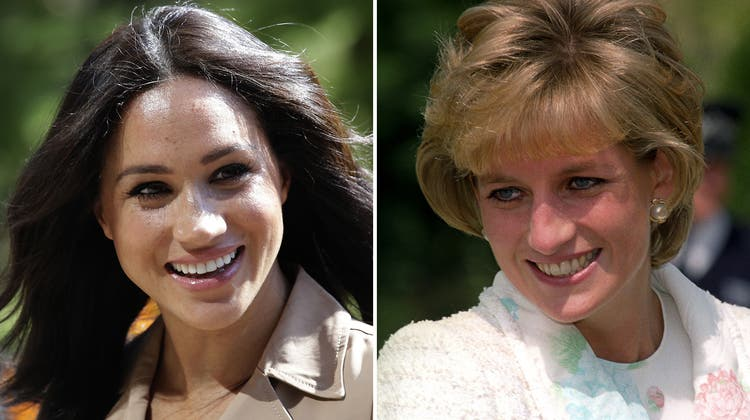 Meghan wusste schon, was sie wollte, als sie in die königliche Familie heiratete. Diana war jung und naiv – aber mit den Verhaltensregeln bestens vertraut. (Key/Getty)