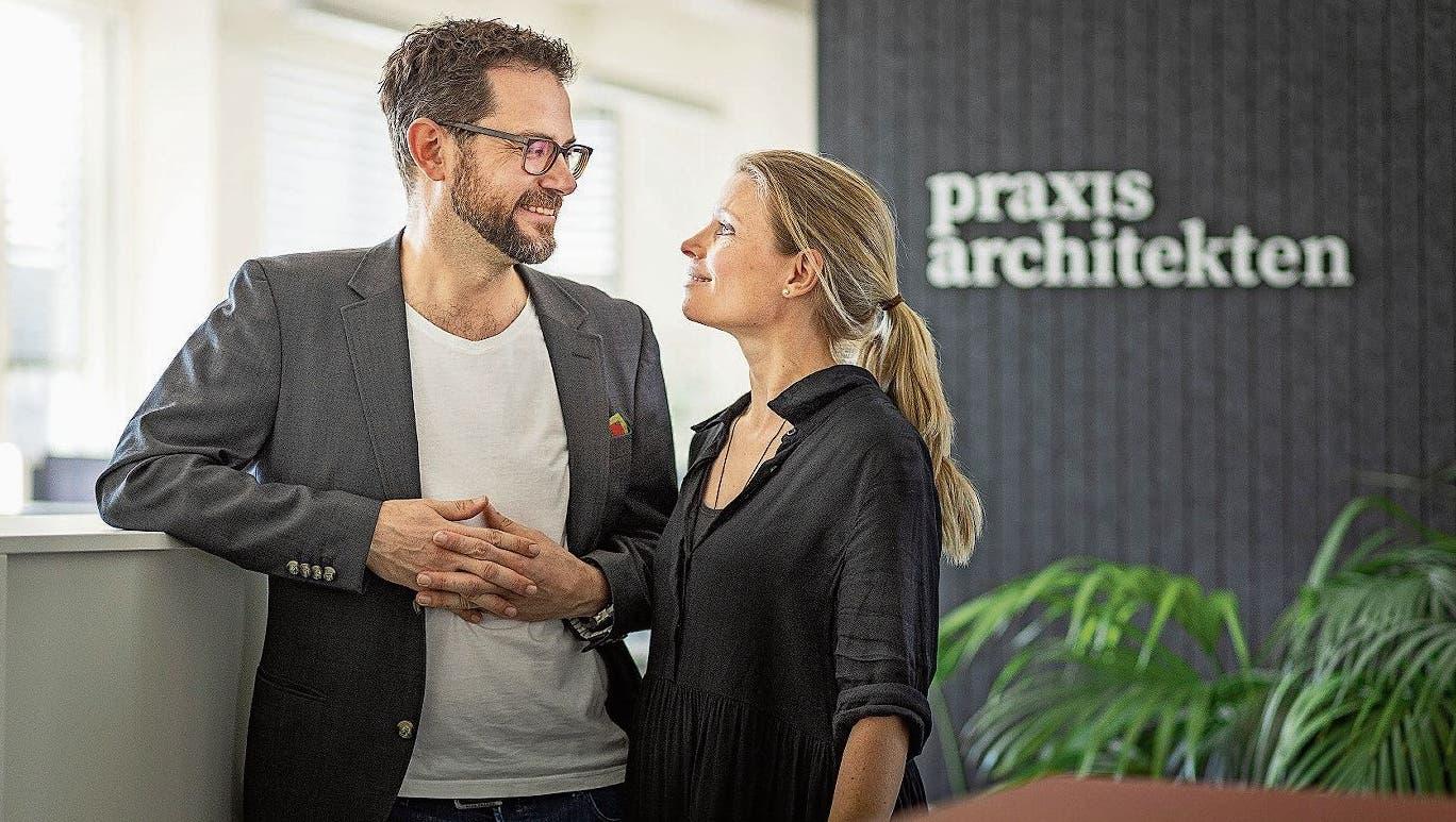 Eine Lenzburger Erfolgsgeschichte: Zu Besuch bei den «Praxisarchitekten»