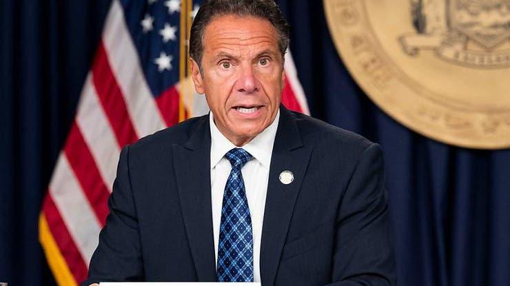 Andrew Cuomo, Gouverneur des Bundesstaates New York, spricht auf einer Pressekonferenz. (Foto: Keystone)