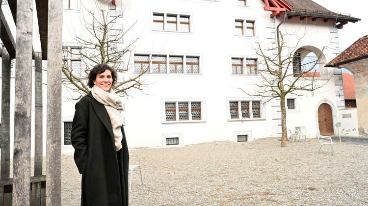 Sie prägte das Nidwaldner Museum. Kuratorin Patrizia Keller zieht es nach fünf Jahren und mehreren erfolgreichen Ausstellungen weiter. (Bild: Romano Cuonz (Stans, 9. März 2021))