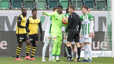 Der Treffer zum 1:0 durchThody Élie Youan. (Bild: Michel Canonica)