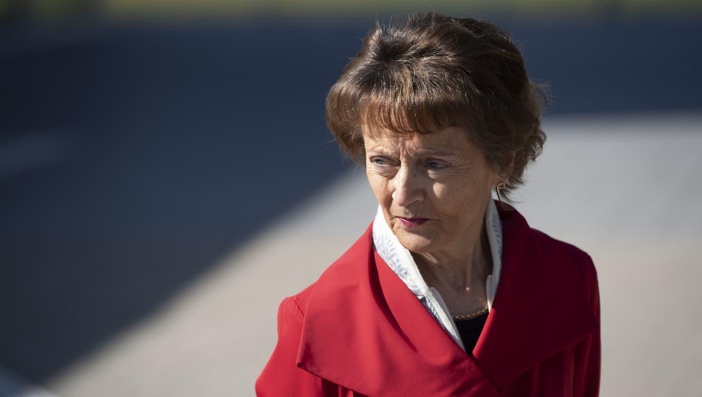 Alt Bundesrätin und Pro-Senectute-Präsidentin Eveline Widmer-Schlumpf äussert sich kritisch über eine mögliche Erhöhung der Ehepaarrente. (Keystone)