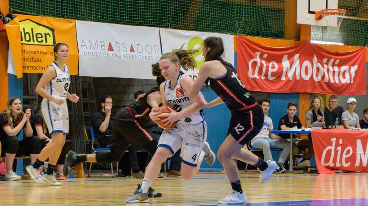 Die BC AKA Spielerinnen im Einsatz. (Claudia Kern,zvg / AAR)