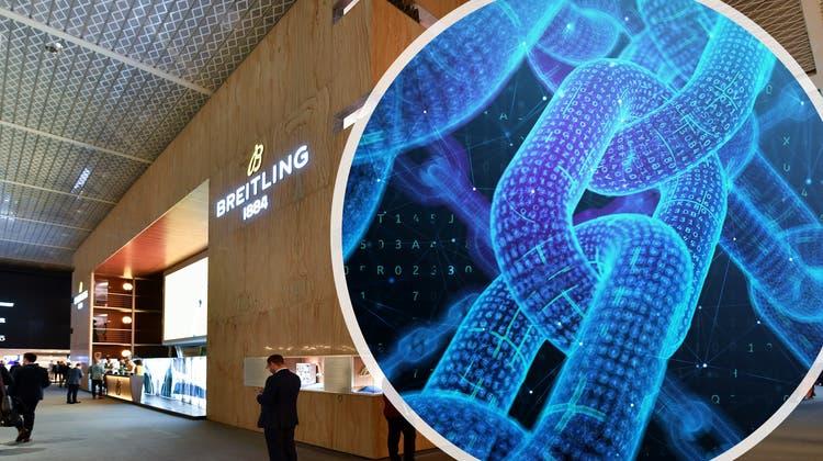 Blockchain-Technologie soll die Zertifizierung und die Garantie der Breitling-Uhren vereinfachen und sicherer machen. (CH Media und Getty Images)