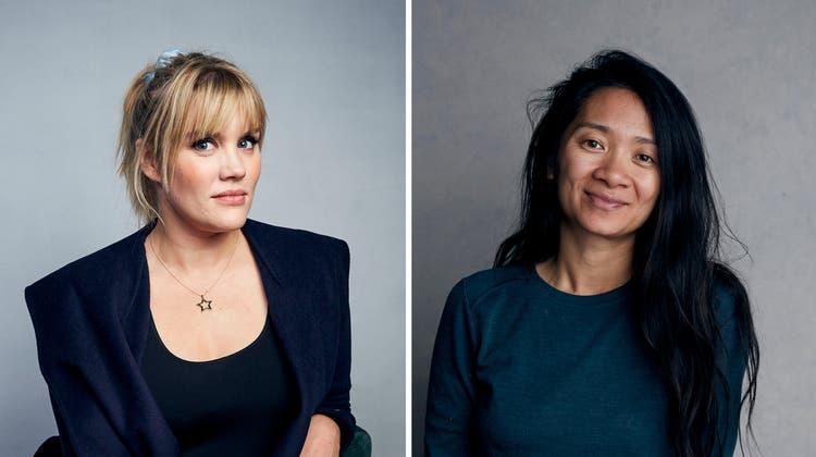 Oscar-Novum: Emerald Fennell (l.) und Chloé Zhao: (Bild: Keystone)