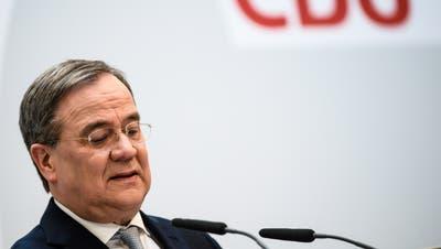 Ein Verlierer der Landtagswahlen vom letzten Sonntag, obwohl er gar nicht angetreten ist: CDU-Chef Armin Laschet. (Clemens Bilan / Pool / EPA)