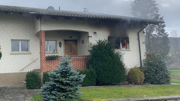 Nach Brand im Einfamilienhaus: Eingeschaltete Herdplatte war der Auslöser