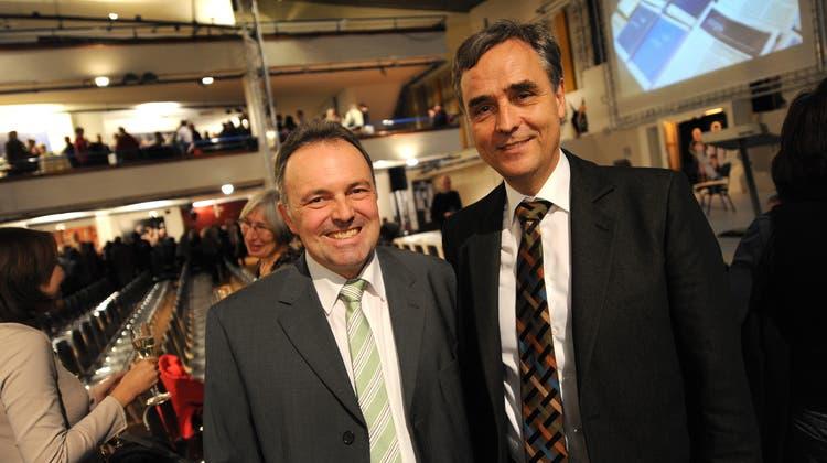 Der Grüne Josha Frey, früher «Mister Schappo» beim ehemaligen Basler Regierungspräsidenten Guy Morin, zieht wieder glanzvoll in den baden-württembergischen Landtag ein. (Bild: Juri Junkov(5. Dezember 2011))