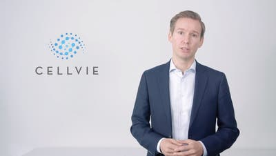Cellvie-Mitgründer und CEO Alexander Schüller. (Screenshot: Youtube)
