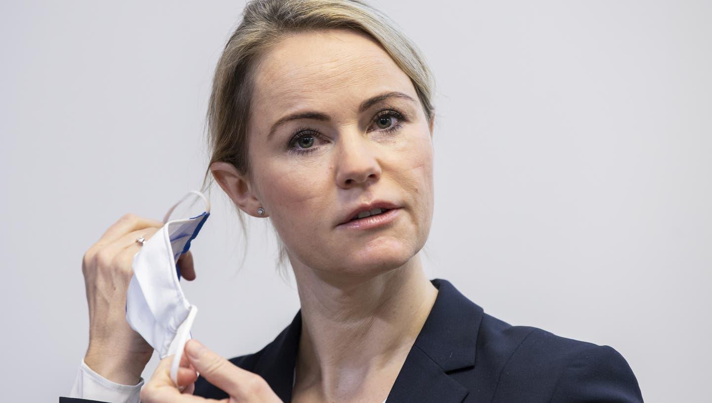 Regierungsrätin Natalie Rickli. (Keystone)