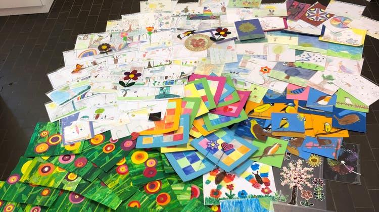 Über 200 Zeichnungen kamen zusammen (zvg)