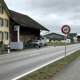 Im Jahr 2020 stand bei Niederbüren 49 Tage lang ein Blitzer. (Bild: Andrea Häusler)