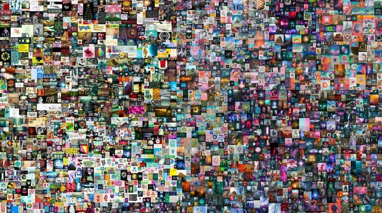 Bei Christie's versteigert: Die Collage«Everydays: The First 5000 Days» . (AP)
