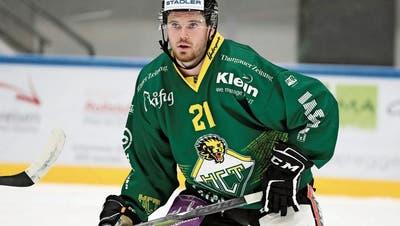 Nach zwei NLA-Jahren mit dem SC Rapperswil-Jona stürmt Jan Mosimann in dieser Saison für den HC Thurgau. (Mario Gaccioli (18.September 2020))