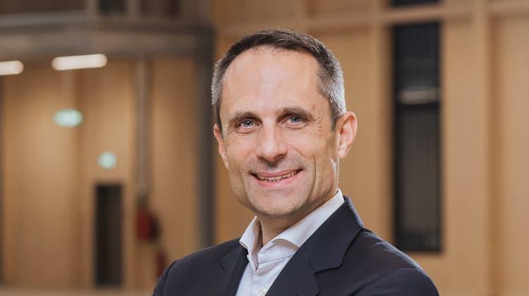 Der neue V-Zug-CEO Peter Spirig. (Bild: PD)