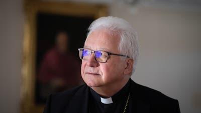 Der St.Galler Bischof Markus Büchel. (Bild: Benjamin Manser)