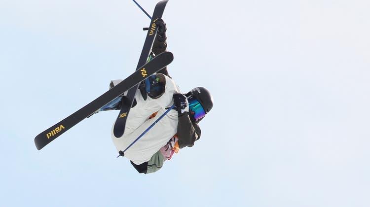 Andri Ragettli kann im Big Air nicht nachdoppeln. Der Flimser landet auf dem 6. Platz (Archiv) (Keystone)