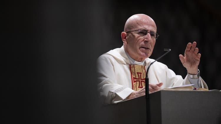 Der neue Churer Bischof Joseph MariaBonnemain. (Keystone)