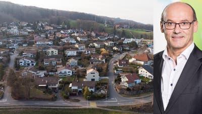 Der aktuelle Bergdietiker Gemeinderat: Jean-Claude Rebetez (FDP), Françoise Oklé(FDP), Gemeindeammann Ralf Dörig (FDP), Vizeammann Urs Emch (SVP) und Paul Monn (parteilos). (Bild: zvg)