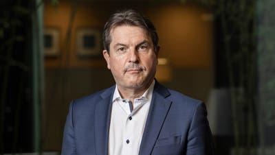 Raimund Bruhin, Direktor von Swissmedic, porträtiert am Hauptsitz von Swissmedic in Bern. (Severin Bigler (17. März 2021))