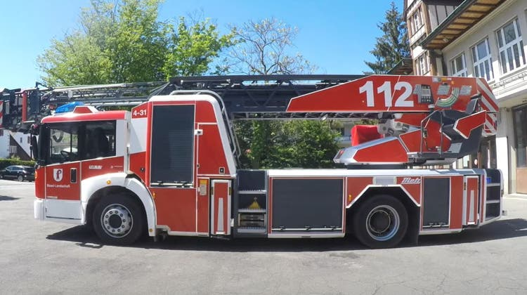 Das kurz vor der Feuerwehrreform 2014 von der Gemeinde Muttenz beschaffte Fahrzeug gehört nun offiziell dem Kanton. An seiner Einsatzkonzeption ändert sich indessen nichts. (Bild: Zvg)