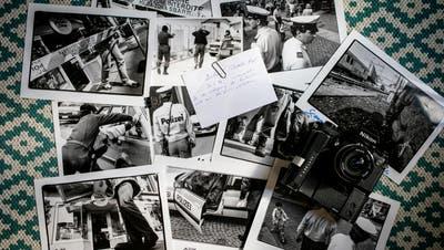 Der Polizistenmord von St.Gallenerschütterte vor 25 Jahren die ganze Schweiz. (Bildcollage: Raphael Rohner)