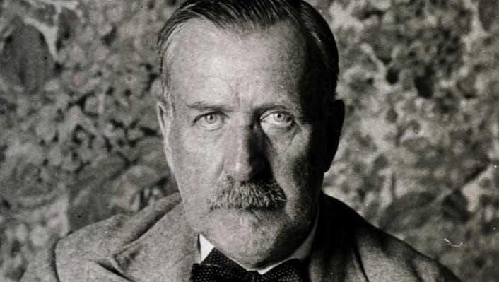 Brüder und Rivalen: Heinrich (stehend) und Thomas Mann um 1905. (Imagno / Hulton Archive)