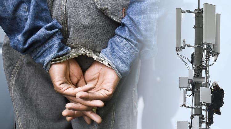 Handyantennen können der Verbrechensaufklärung dienen. (Bild: TBM)