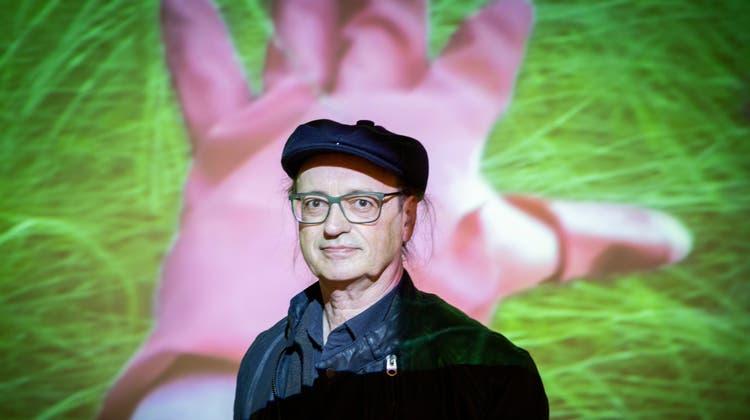 Virtuos im Multimedia-Bereich unterwegs: Der St.Galler Künstler Stefan Rohner. (Bild: Tobias Garcia)