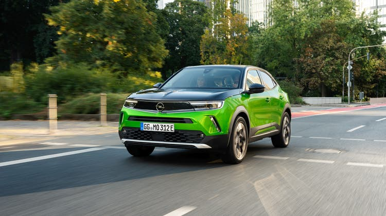 Der neue Opel Mokka fällt auf – nicht nur aufgrund der Lackierung. (Bild: zVg)