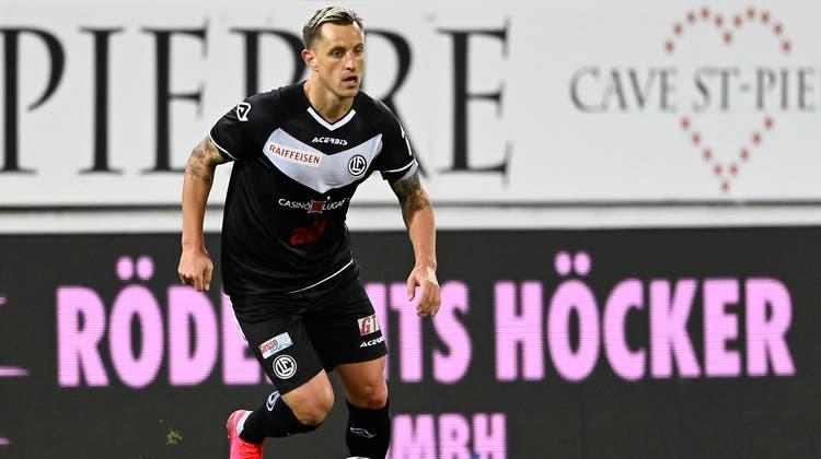 Zurück in der Super League: Reto Ziegler, FC Lugano. (Freshfocus)